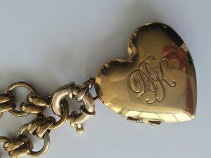 KEINE WEITEREN REDUZIERUNGEN  !! Armband & Kette mit Anhänger /Medaillion Herz