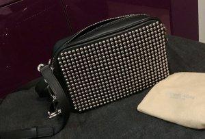 Keine weiteren Reduzierungen! Michael Kors Collection Tasche schwarz silberne Nieten