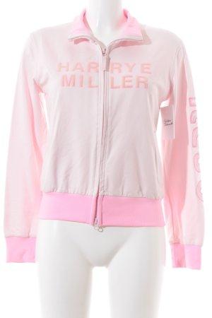 Kejo Blusón rosa claro-rosa neón letras impresas estilo deportivo