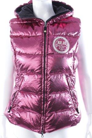 Kejo Steppjacke pink-metallic