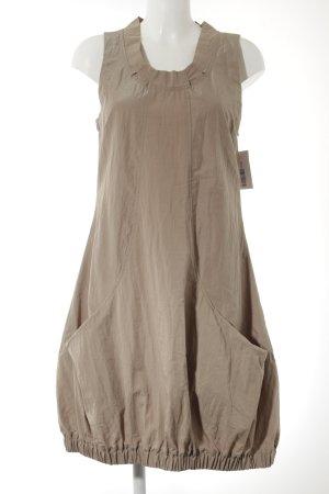 Kekoo Balloon Dress light brown extravagant style
