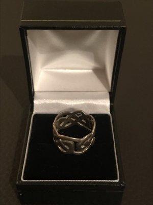 Keltischer Silberring