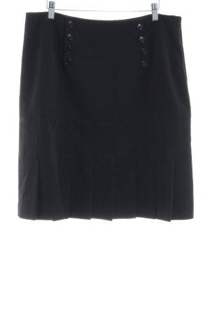 Kemper Plaid Skirt black casual look