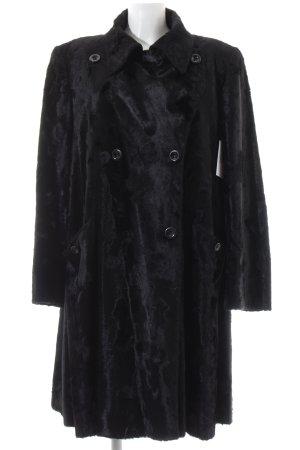 Kemper Wintermantel schwarz extravaganter Stil