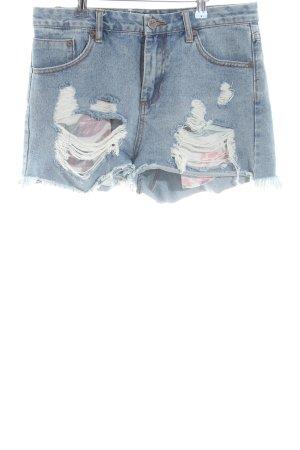 Kendall + Kylie Jeansshorts blau Casual-Look