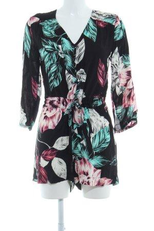 Kendall + Kylie Jumpsuit florales Muster Beach-Look