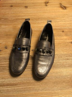 Kennel&Schmeger Loafer silber grau