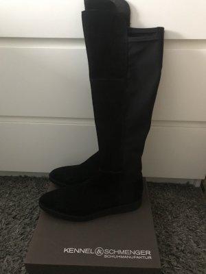 Kennel und Schmenger Laarzen met hak zwart
