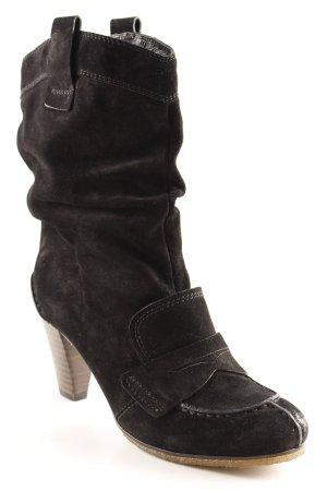 Kennel + schmenger Absatz Stiefel schwarz Casual-Look