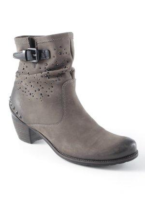 Kennel + schmenger Ankle Boots graubraun-ocker Casual-Look