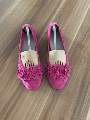 Kennel + schmenger Foldable Ballet Flats pink