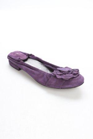 Kennel + schmenger Ballerinas lila klassischer Stil