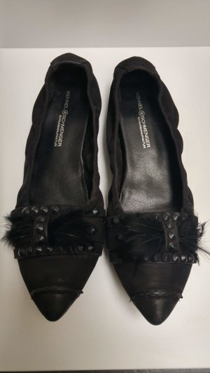 Kennel und Schmenger Ballerinas black leather