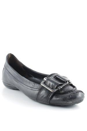 Kennel + schmenger Ballerinas mit Spitze schwarz Casual-Look
