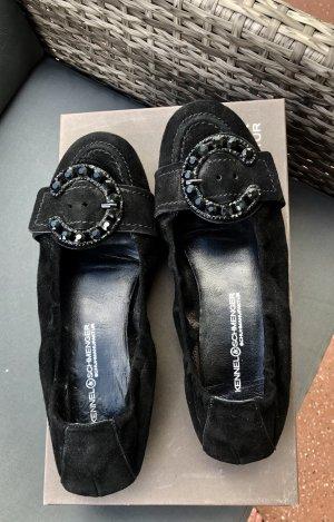Kennel & Schmenger Ballerinas, schwarz, Größe 6 (39)