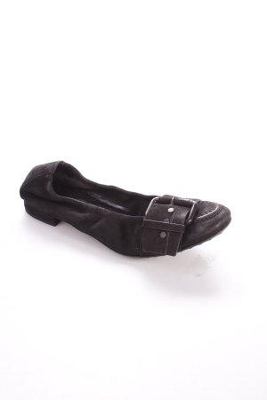 Kennel + schmenger Ballerinas schwarz schlichter Stil