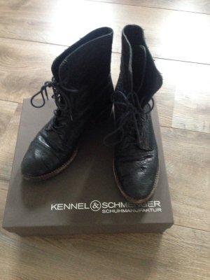 Kennel & Schmenger Boots 4 1/2 schwarz