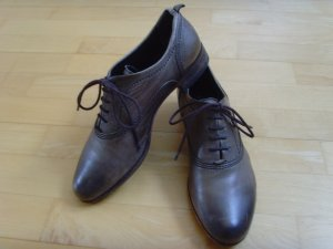 Kennel + schmenger Lace Shoes grey brown leather