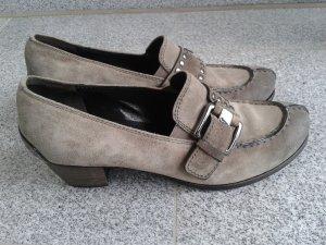 Kennel & Schmenger coole Echtleder Schuhe taupe Gr.39