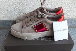 Kennel&Schmenger Echtleder Sneaker taupe Gr.38 neu