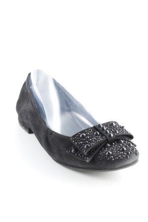 Kennel + schmenger faltbare Ballerinas schwarz Casual-Look