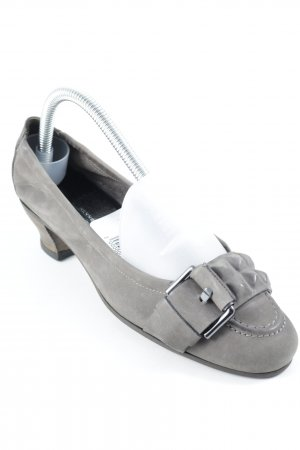Kennel + schmenger High Heels graubraun Casual-Look