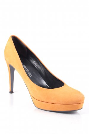 Kennel + schmenger High Heels orange klassischer Stil
