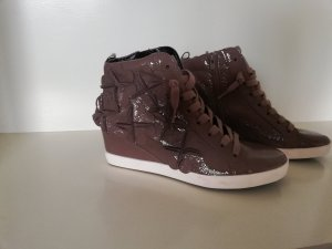 Kennel & Schmenger Hightop Sneakers Boots Town Wedges 37 Neu Lack