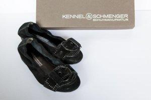 Kennel und Schmenger Ballerines noir daim