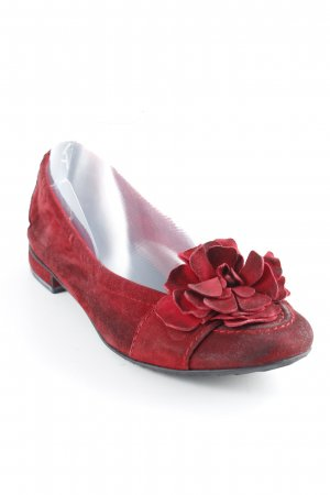 Kennel + schmenger Patent Leather Ballerinas carmine classic style