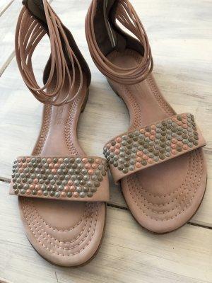 Kennel&Schmenger Leder Sandalen mit Steinen 199€