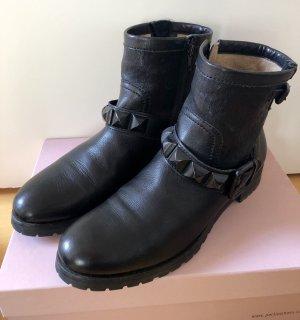 Kennel & Schmenger Leder Stiefelette schwarz