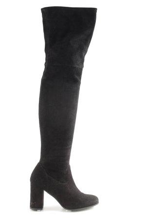 Kennel + schmenger Stivale cuissard nero stile casual