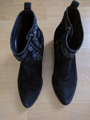 Kennel Schmenger Pailletten Leder Ankle Boots