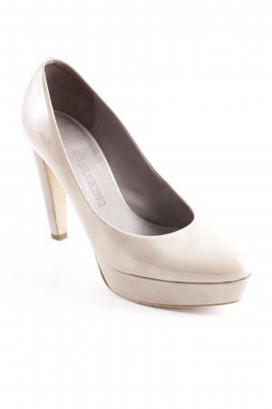 Kennel + schmenger Plateau-Pumps sandbraun Elegant
