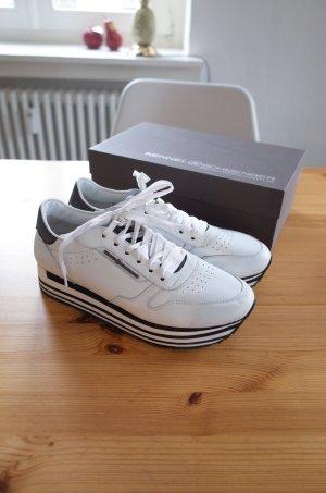 Kennel und Schmenger Sneaker bianco-nero Pelle