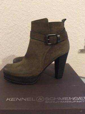 Kennel & Schmenger Plateau-Stiefelette High-Heel Gr. 3,5 / 36,5