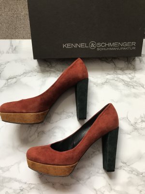 Kennel + schmenger High-Front Pumps multicolored leather