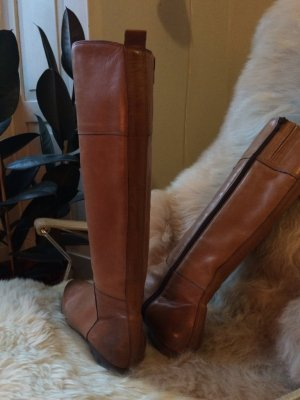 Kennel + schmenger Riding Boots camel-grey brown leather