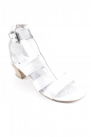 Kennel + schmenger Strapped High-Heeled Sandals white casual look