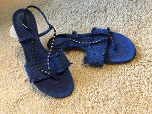Kennel und Schmenger Sandalo con cinturino blu