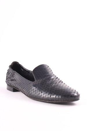 Kennel + schmenger Zapatos sin cordones negro estilo sencillo