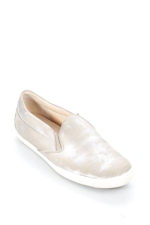 Kennel + schmenger Schlüpfsneaker grau-silberfarben Glitzer-Optik