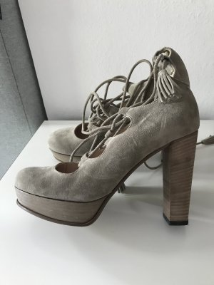 Kennel & Schmenger Schnür Pumps 37.5 Edel Wildleder