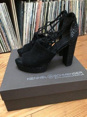 Kennel + schmenger Peep Toe Pumps black