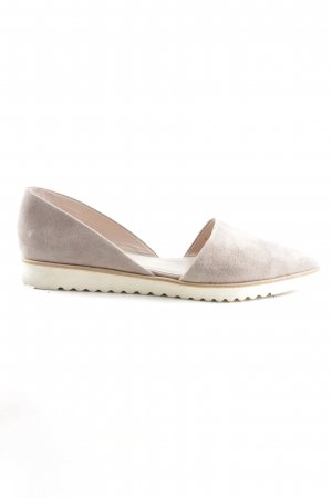 Kennel + schmenger Slingback Ballerinas wollweiß-creme Casual-Look