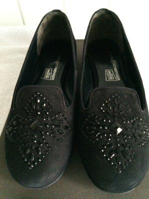 Kennel + schmenger Slip-on Shoes black leather