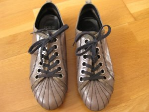 Kennel und Schmenger Lace-Up Sneaker dark grey leather