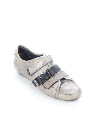Kennel + schmenger Sneaker Klettverschluss grau-schwarz extravaganter Stil