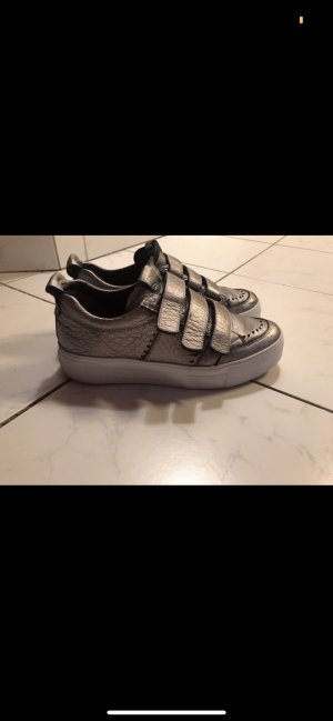 Kennel + schmenger Velcro Sneakers silver-colored